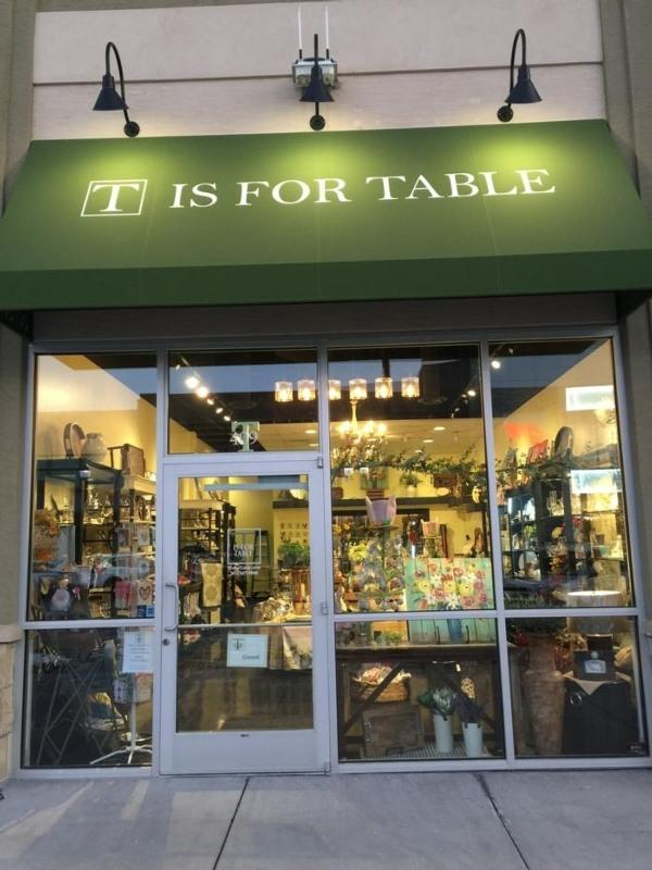 T Is For Table Colorado